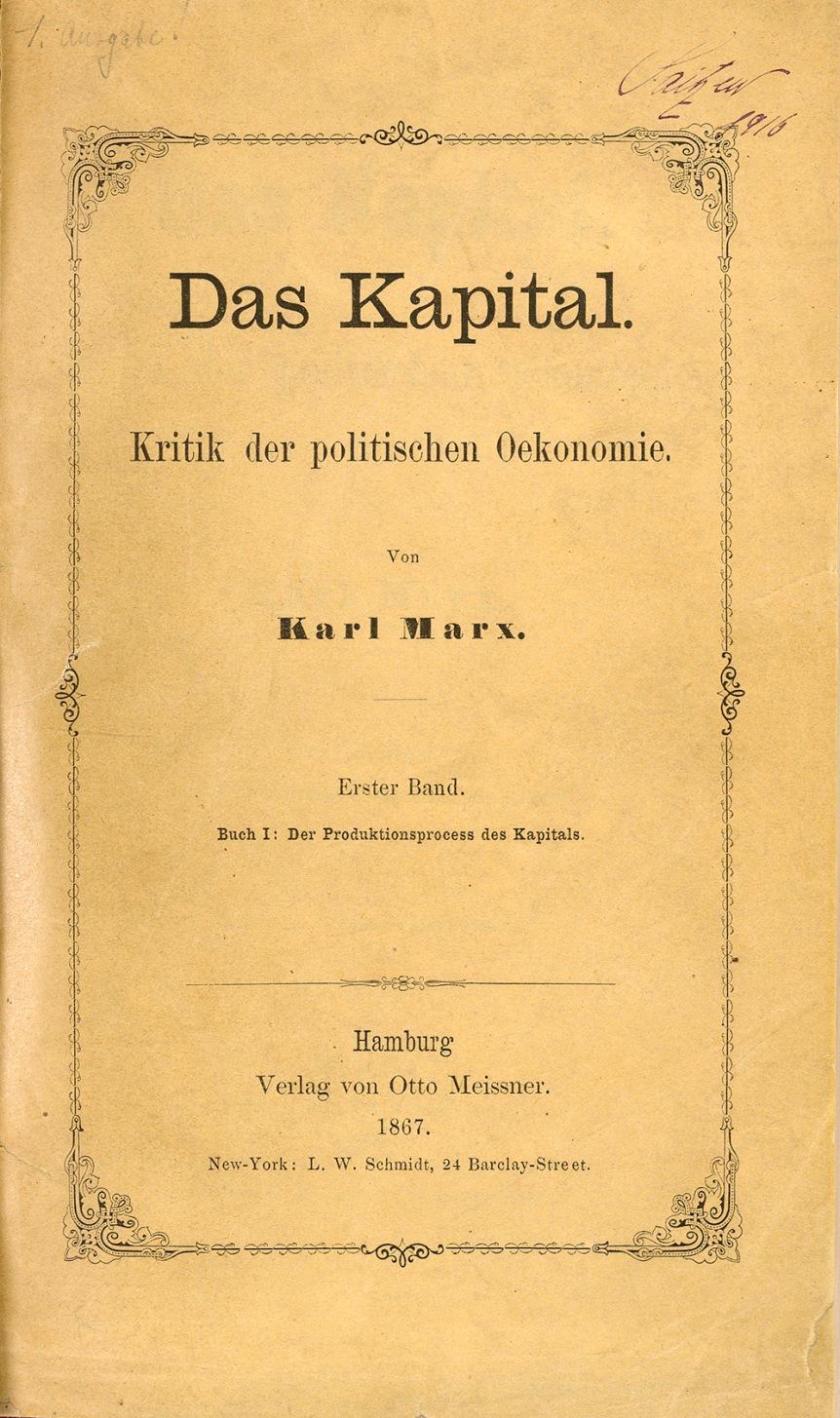 Das Kapital by KarlMarx