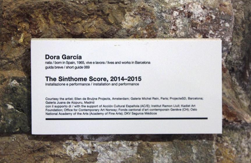The Sinthome Score